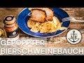 Gepoppter Bier-Schweinebauch mit Magic Dust 🐖🍺 - Ankerkraut würzt