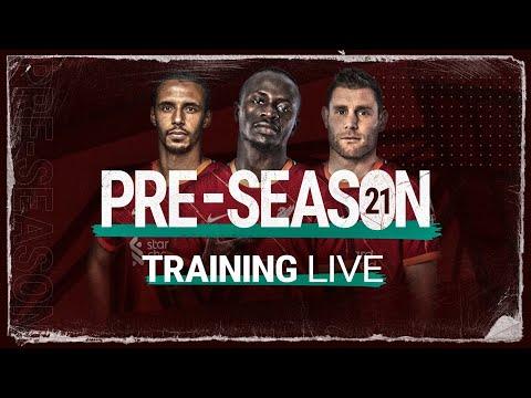 Live Training: Liverpool prepare for Hertha Berlin friendly