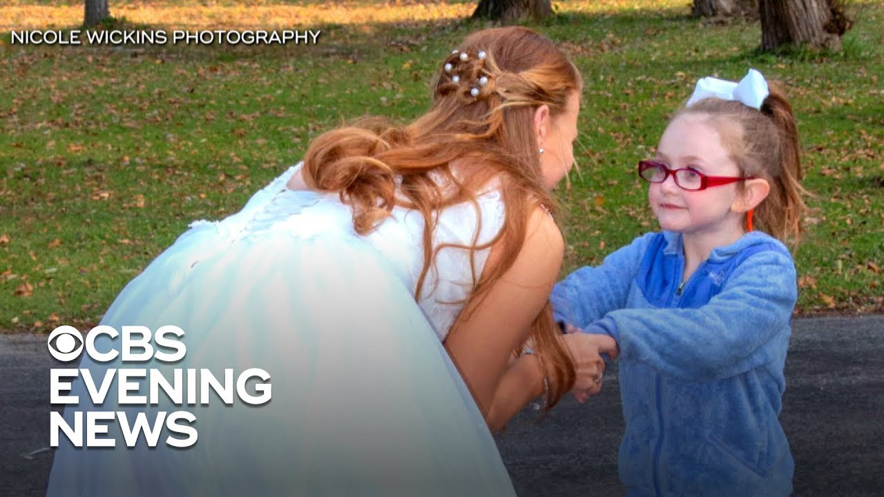 5-year-old girl with autism mistakes bride for Cinderella