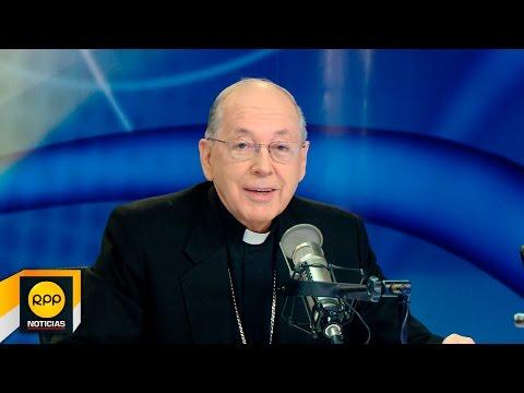 """Cardenal Juan Luis Cipriani│""""Los curas no solo pueden, sino que deben hablar del amor"""" (07/05/2016)"""