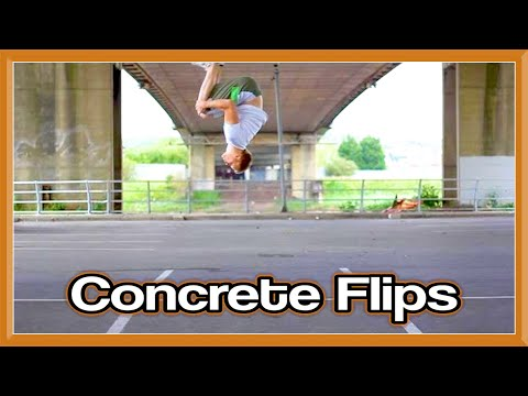 Chilled Concrete Tricking | Flips & Kicks