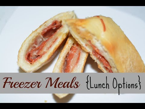 Quick & Easy Lunch Option That Freezes Great | Freezer Cooking Meals