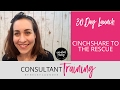 Cinchshare to the Rescue - myConsultant Training by BL