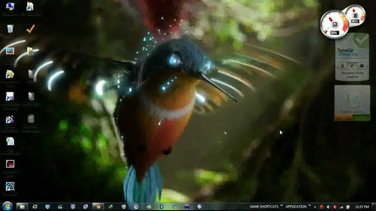my BEST desktop wallpaper ever ( dreamscene ) - YouTube