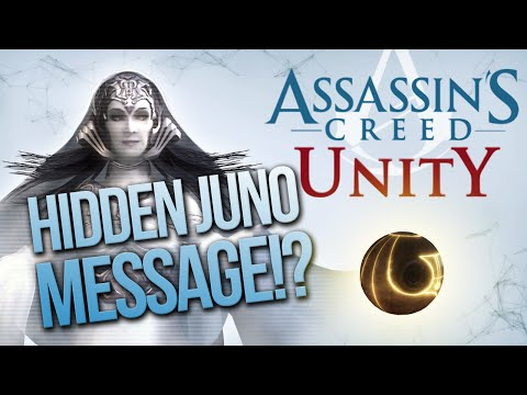 Assassin's Creed Unity | HIDDEN JUNO MESSAGE!! - DNA, Animus, Helix, First Civ