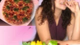 Broccoli And Pepper Pizza