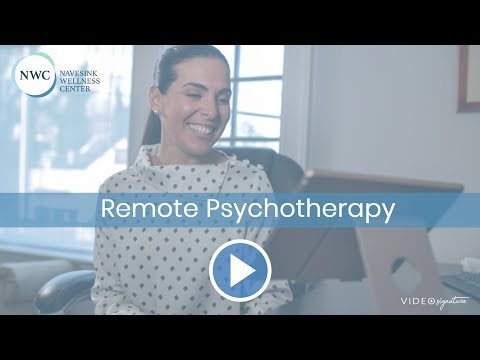 Service Video Signature -Remote Psychotherapy - Navesink Wellness Center
