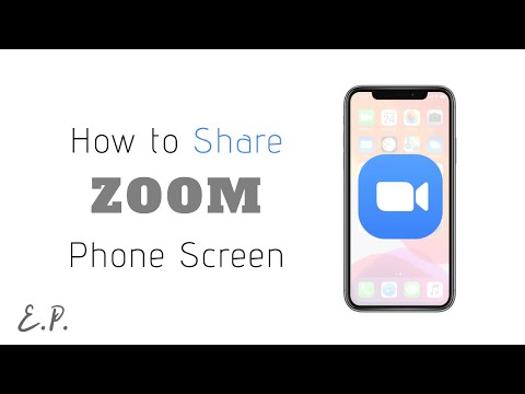 How to Share iPhone or iPad Screen During Zoom Meeting