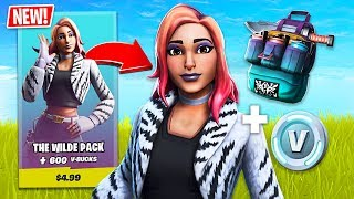 New Wilde Starter Pack Skin! (Fortnite Battle Royale)