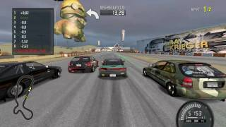 ASUS Eee PC 1201N Need For Speed ProStreet Gameplay 2 1280x720 low setting