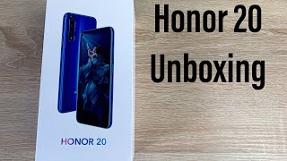 Honor 20 Unboxing & First Impressions