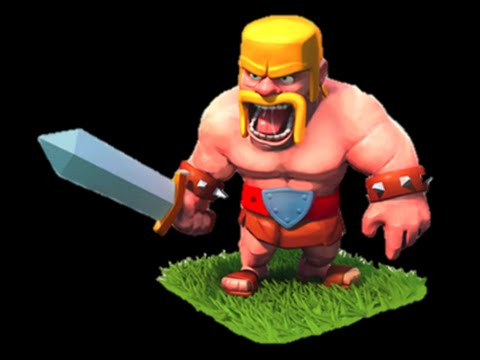 картинки варвара из clash of clans