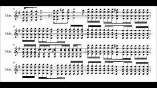 マンドリン&マンドラ独奏 圧電体「M」