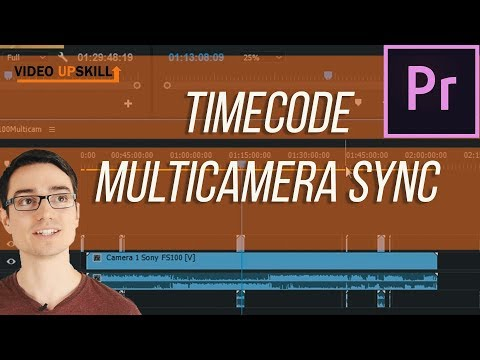 How to sync with timecode in premiere pro