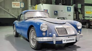 1958 MGA 1500 MkI Coupe (Project) -  2020 Shannons Autumn Timed Online Auction