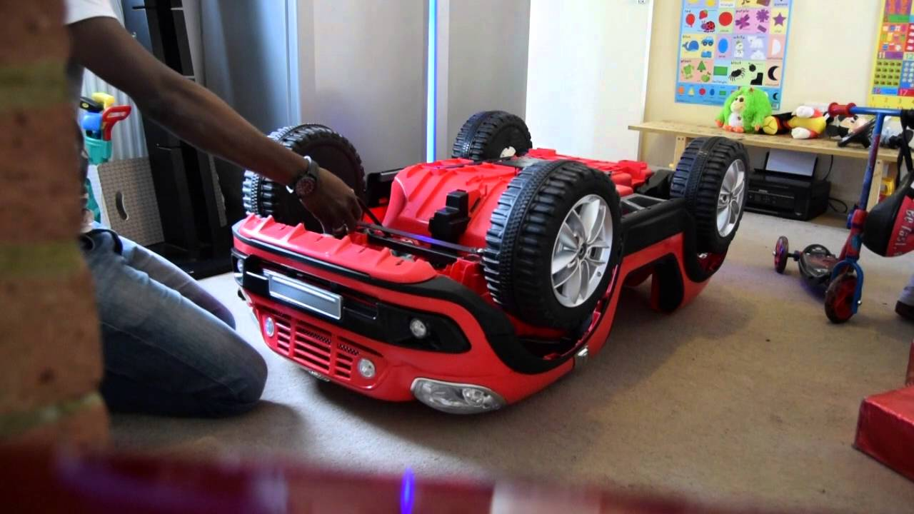 kids driving unboxing and building kids mini beachcomber 12 volt ride on power car to a team song youtube