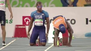 Athletics | Men's 100m - T11 Round 1 heat 5 | Rio 2016 Paralympic Games