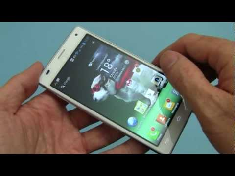 LG Optimus 4X HD video review - part 1 of 2