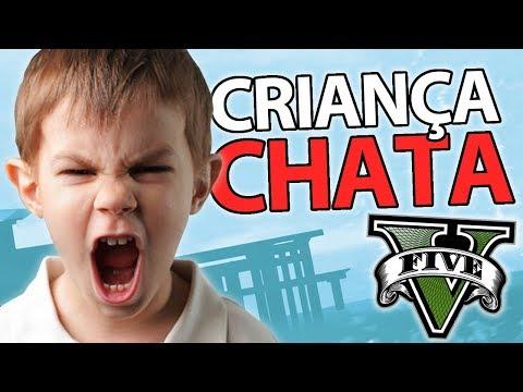 COMO SER UMA CRIANÇA CHATA NO GTA V
