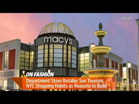 Department Stores See Bright Future in NYC