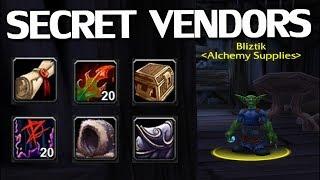 Hidden Andamp Secret Vendors In Wow Classic