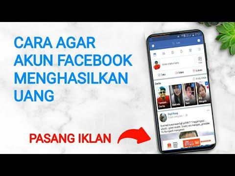 Cara Mendapatkan Uang Dari Iklan Yang Dipasang di Akun Facebook