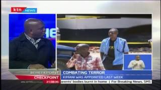 Discussion on combating terror with Dr Martin kimani