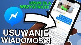 Jak usunąć wiadomość na Messengerze?   | AppleNaYouTube