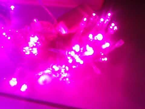 Diy Lampu Tumblr Led Pink Dan Ungu Untuk Hiasan Kamar Dan Ruangan