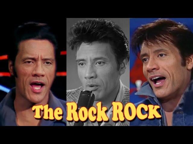 The Rock ROCK!  Dwayne Johnson's Greatest Hits - Elvis Presley Deepfake