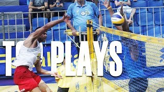 CBV Fortaleza 2018 • TOP MENS PLAYS #2 • Beach Volleyball World