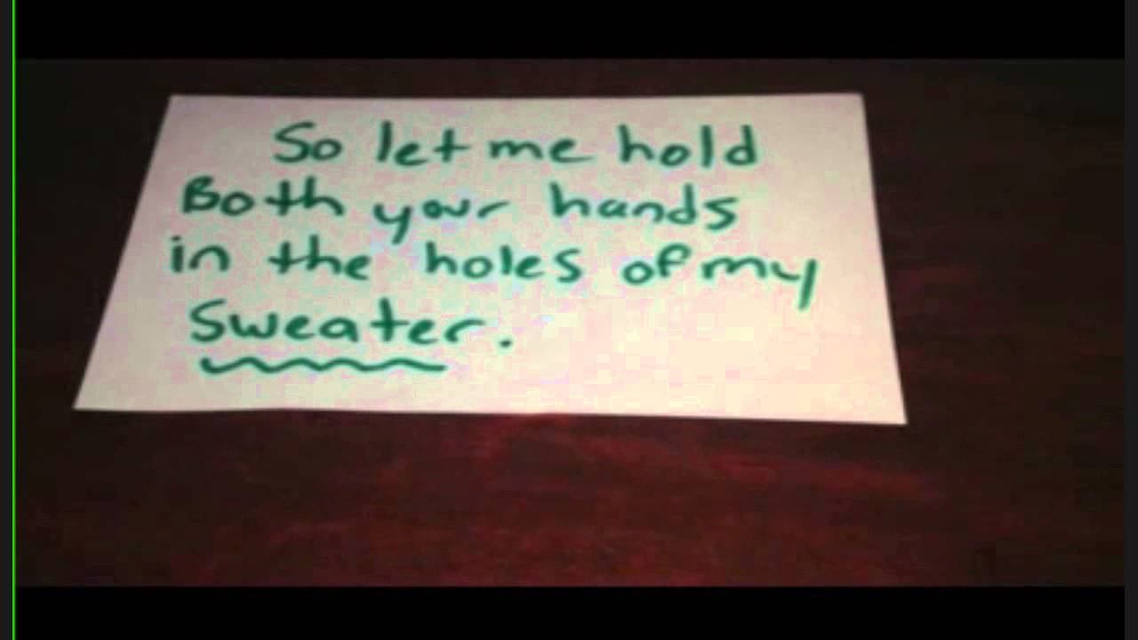 Sweater Weather By The Neighbourhood Lyric Video Youtube