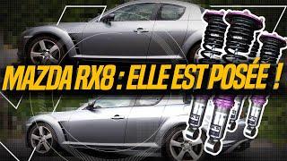 MA RX8 ACCROCHE LE BITUME - Amortisseur HKS sur Mazda RX8