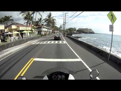 Ride down Ali'i dr, Hawai'i