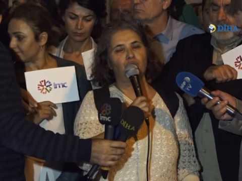 Galatasaray Meydanı'nda Protesto: Gerçeklerin haber olması engellenemeyecek