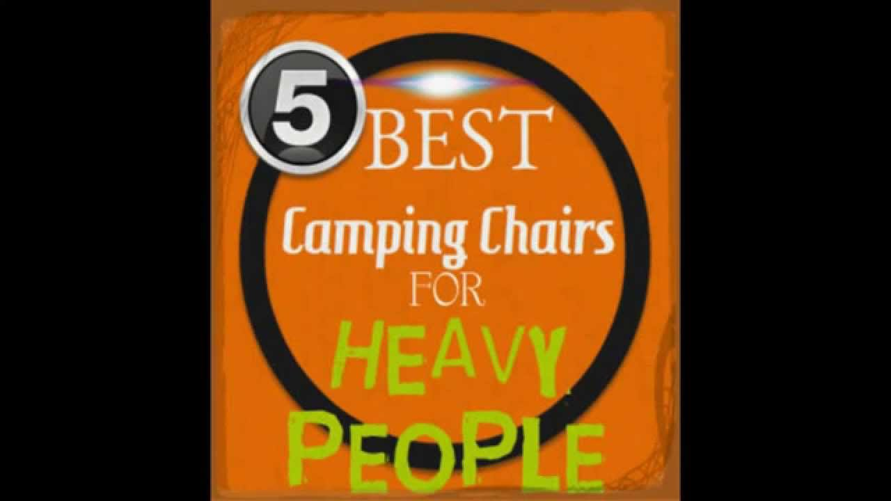 Top 5 Extra Large Camping Chairs For Heavy People