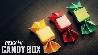 DIY : Origami Candy Box