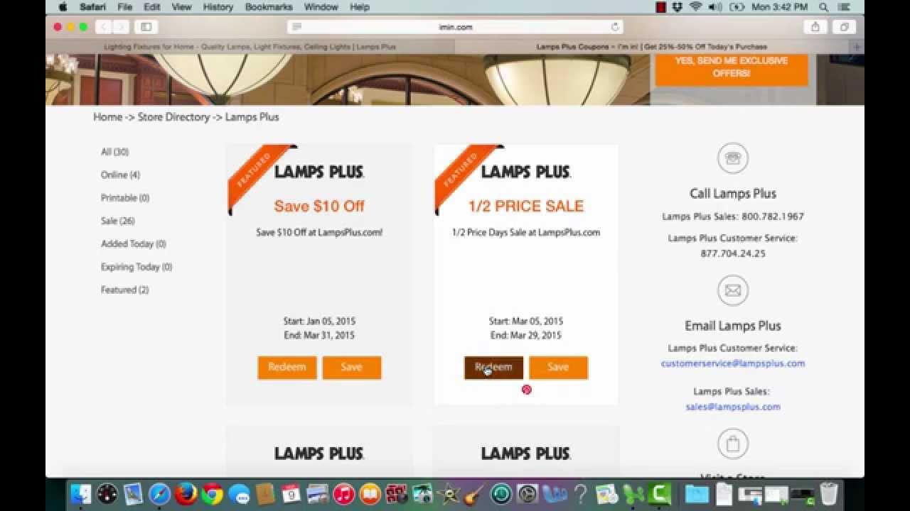 LAMPS PLUS PROFESSIONALS COUPON CODE