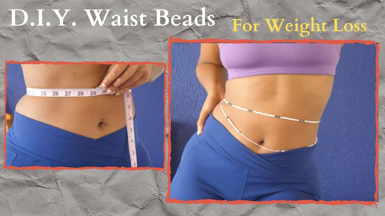 Diy African Waist Beads W Clasp For Weight Loss Tutorial Youtube