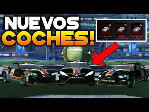 PROBANDO LOS NUEVOS COCHES DE NASCAR 2021 EN ROCKET LEAGUE 🚀
