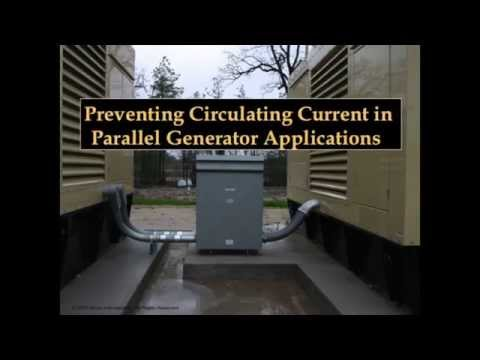 Preventing Circulating Current in Parallel Generator Applications