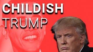 Not Satire: Trump Blames Obama for Russia