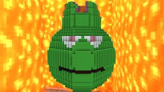Minecraft vs Zombies | LAVA GUAVA!! (Eruption!) | PvZ  Land