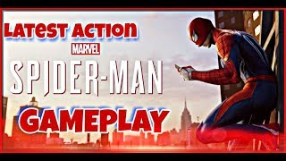 Marvel Spider-Man PS4 Gameplay Latest Action
