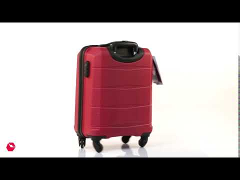 Safari Re-Gloss Anti-Scratch 4-Wheel Luggage Trolley