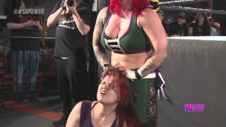 WSU: LuFisto beats the hell out of everyone! (CZWstudios.com) WOMEN'S WRESTLING