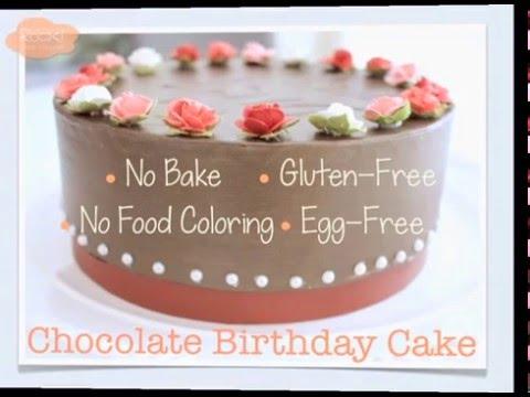 Gluten free chocolate cake gift