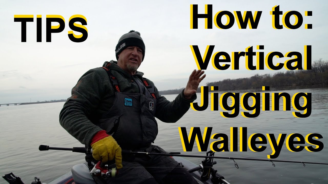 How to Catch Walleyes: Vertical Jigging Tips