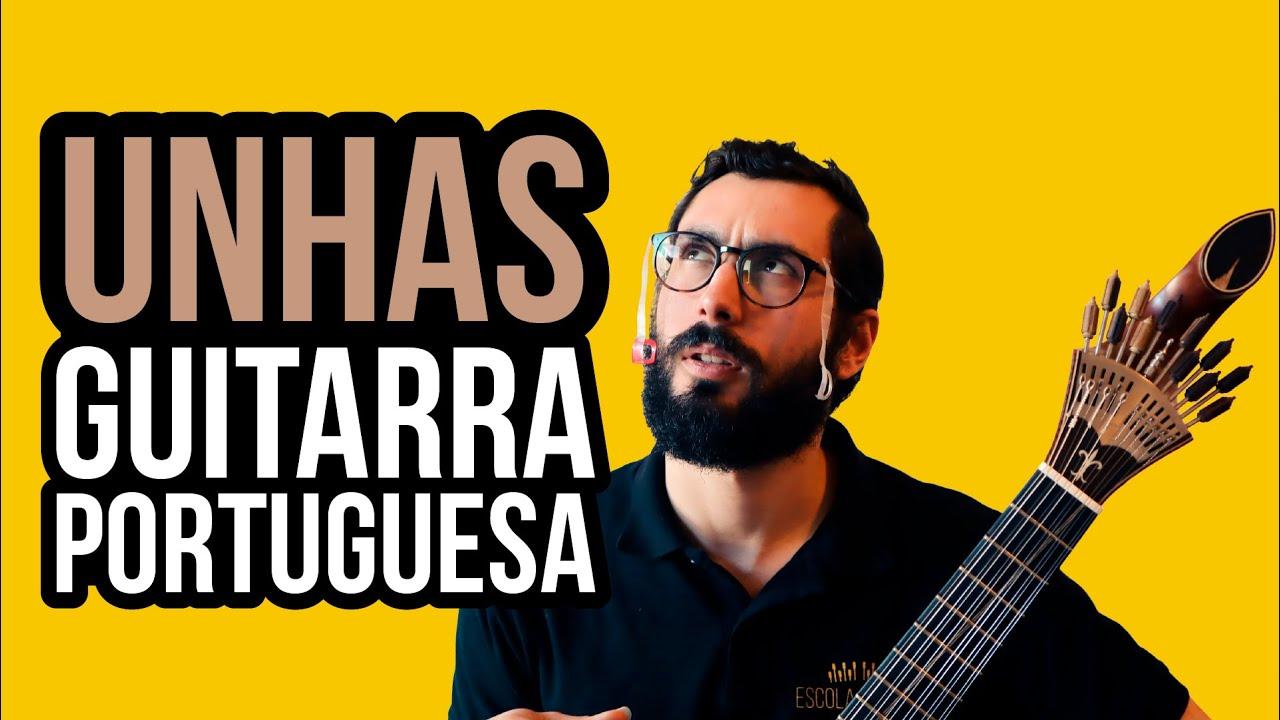 COMO FAZER UNHAS PARA GUITARRA PORTUGUESA AULA