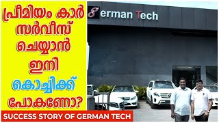 German Tech,Kottayam is a premium car service centre which caters to customers across Kerala